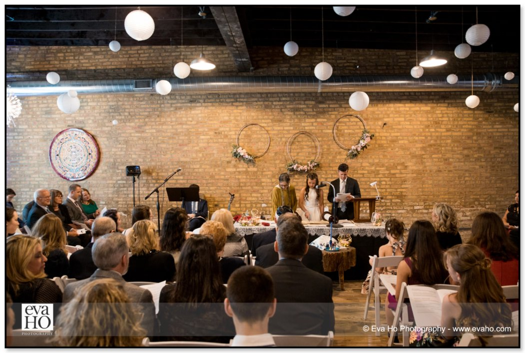 Mitzvah ceremony at Trigger Chicago