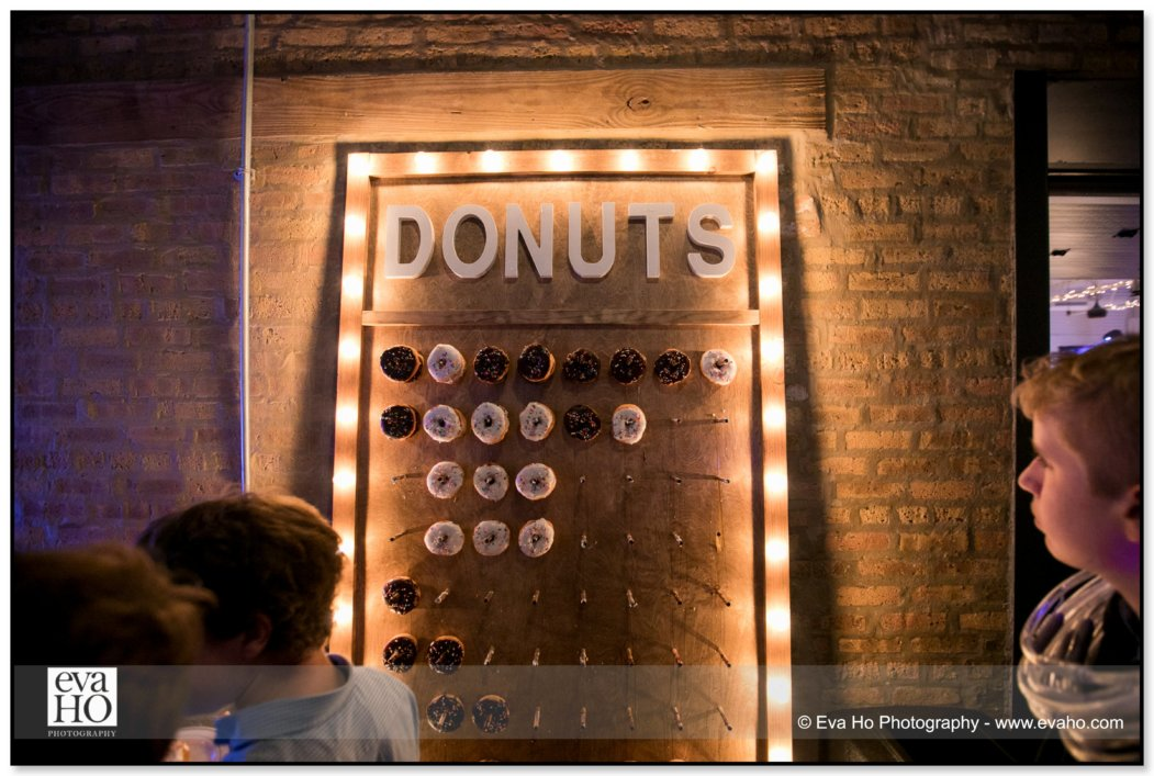 Donut Wall is Popular for the Night
